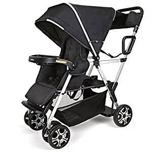 Double Stroller Convenience Urban Twin Carriage stroller Tandem Collapsible Stroller All Terrain Double