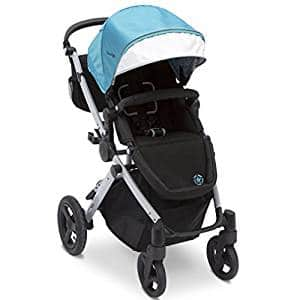J is for Jeep Brand Sport Utility All Terrain Stroller, Aqua