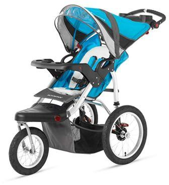 Schwinn Turismo Swivel Single Jogger Stroller