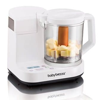 Baby Brezza Glass Baby Food Maker – Steamer and Blender