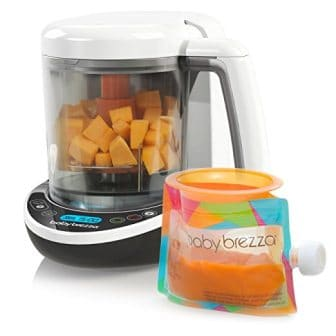 Baby Brezza Small Baby Food Maker Set – Steamer and Blender In One