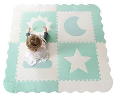 Childlike Behavior Baby Play Mat Interlocking Tiles