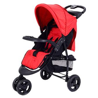Costzon Infant Stroller 3 Wheel Baby Toddler Pushchair Travel Jogger