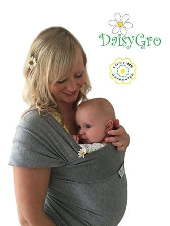 DaisyGro Breathable Soft Cotton Breastfeeding Cover Baby Sling Carrier Baby Wrap