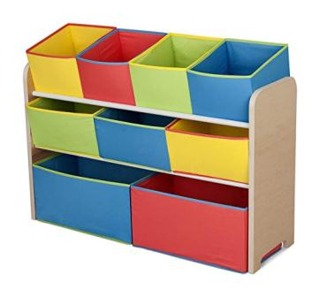 White Medium Fawn Hill Co Book Storage Box Basket for Kids or Pets