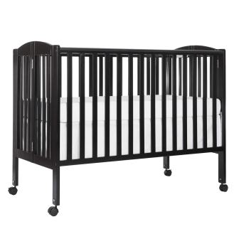 Dream On Me Full Size 2 in 1 Folding Stationary Side Crib