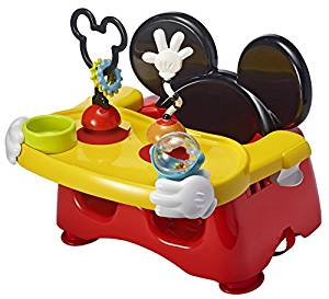First Years Disney Baby Helping Hands Feeding and Activity Seat, Mickey Mouse