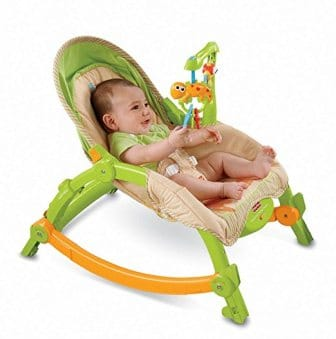 Fisher-Price – Newborn-to-Toddler Portable Rocker