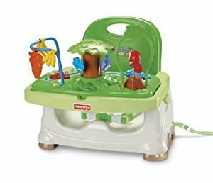 Fisher-Price Rainforest Healthy Care Booster Seat: