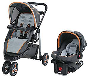 Graco Modes Sport Click Connect Stroller, Alloy