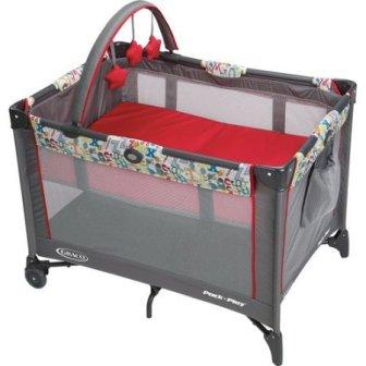 Graco Pack 'N Play On the Go Travel Playard, Typo