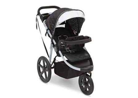 J is for Jeep Brand Adventure All-Terrain Jogging Stroller
