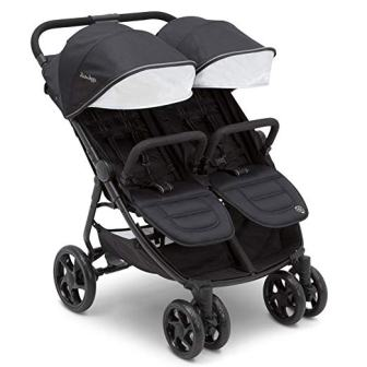 J is for Jeep Brand Ultralight Side x Side Double Stroller