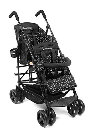 Kinderwagon Hop Tandem Umbrella Double Stroller