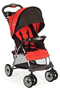 Kolcraft Cloud Plus Lightweight Stroller with 5-Point Safety System