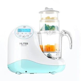 MLITER All in One Baby Food Maker with Steam Cooker