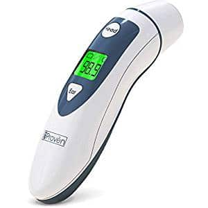 Medical Ear Thermometer with Forehead Function – iProven DMT-489 – Upgraded Infrared Lens Technology for Better Accuracy new