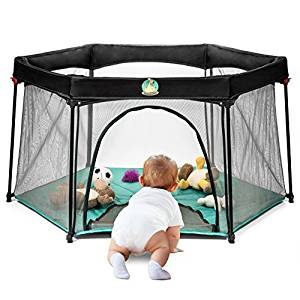Pack and Play Portable Playard Play Pen for Infants and Babies by BabyCenter