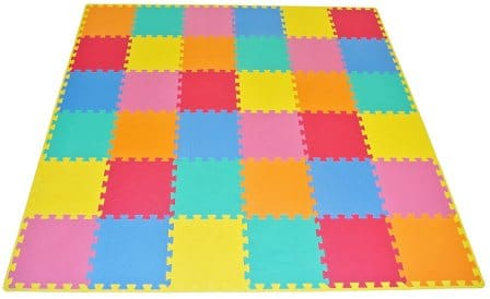 ProSource Kids Solid Puzzle Play Mat