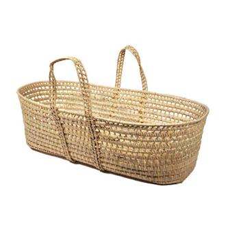 Tadpoles All Natural Organic Moses Basket