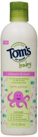 Tom's of Maine Natural Baby Shampoo and Wash