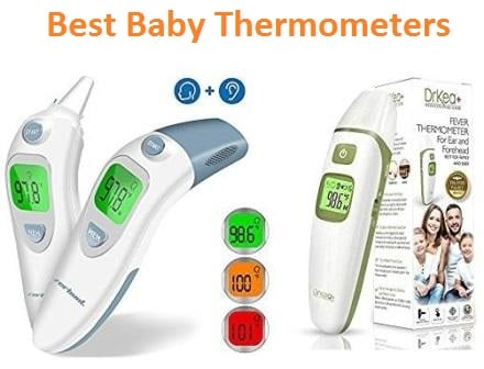 Thermometer for Fever Alert Function Digital Body Soft Head Oral Alar Thermometer 10 Seconds Reading Digital Thermometer for Baby Adult
