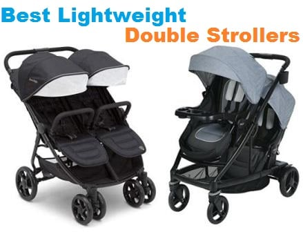 Top 15 Best Lightweight Double Strollers in 2018