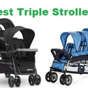 Top 6 Best Triple Strollers in 2020 – Ultimate Guide