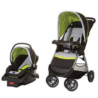 Safety 1st Amble Quad Travel System with Onboard 22 Infant Car Seat