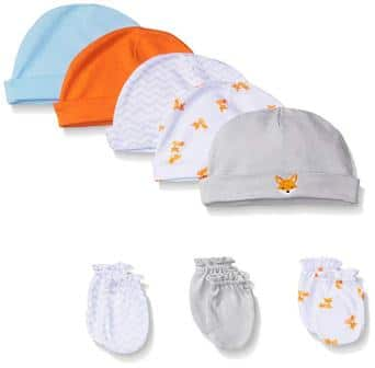 Baby Boys' Caps, 5 Pack from Luvable Friends