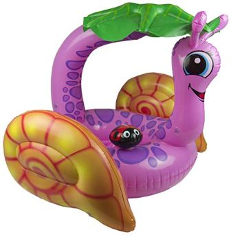 Poolmaster 81562 Learn-to-Swim Snail Baby Float
