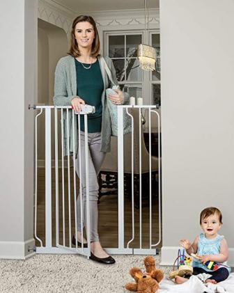 Regalo Easy Step Extra Tall Walk-Thru Gate