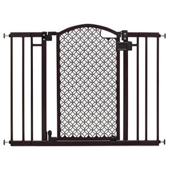 Summer Infant Modern Home Decorative Walk-Thru Baby Gate