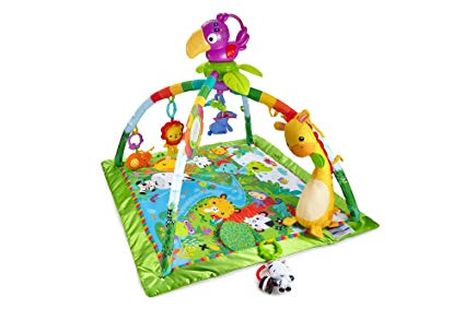 Fisher-Price Rainforest Music and Lights Play Mat