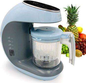 Baby Food Maker Chopper Grinder – Mills and Steamer 7 in 1 Processor