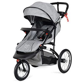 ostzon Baby Jogger Stroller Lightweight w/Cup Phone Holder