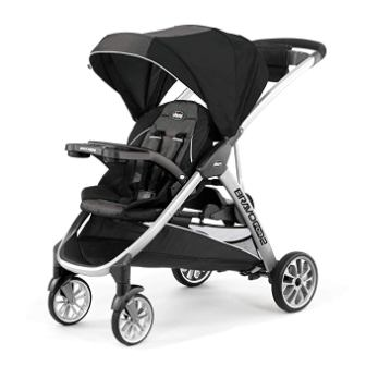 Chicco Bravo Iron Double Stroller (For 2 / Standing-Sitting)