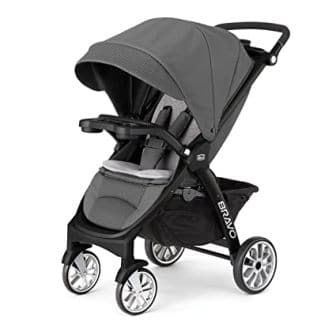 Chicco KeyFit Caddy Black / Grey Frame Stroller