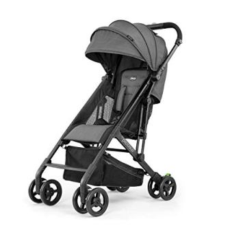 Chicco Piccolo Lightweight Stroller (Carbon Grey)