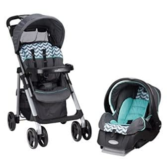 Evenflo Vive Travel System with Embrace Infant Car Seat