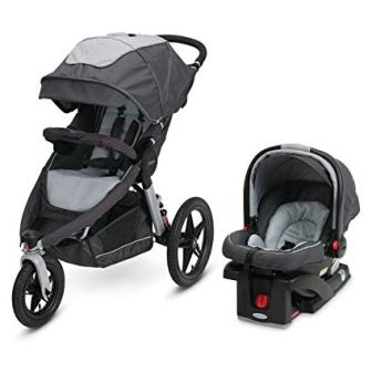 GRACO RELAY JOGGING STROLLER TRAVEL SYSTEM
